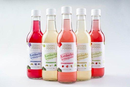 Bedrukte etiketten op rol voor vruchtensappen, smoothies en andere dranken